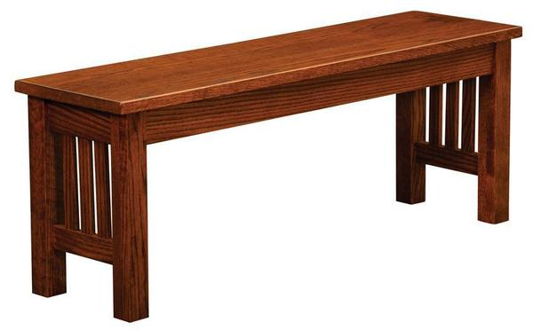 Amish Shipshewana Mission Extension Dining Bench