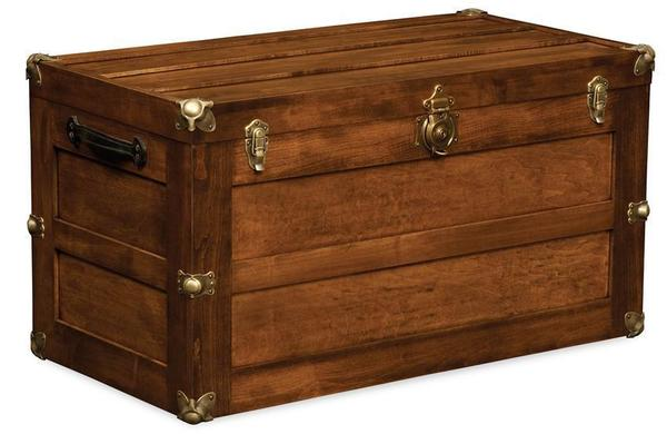 Amish Made Trunk with Flat Lid