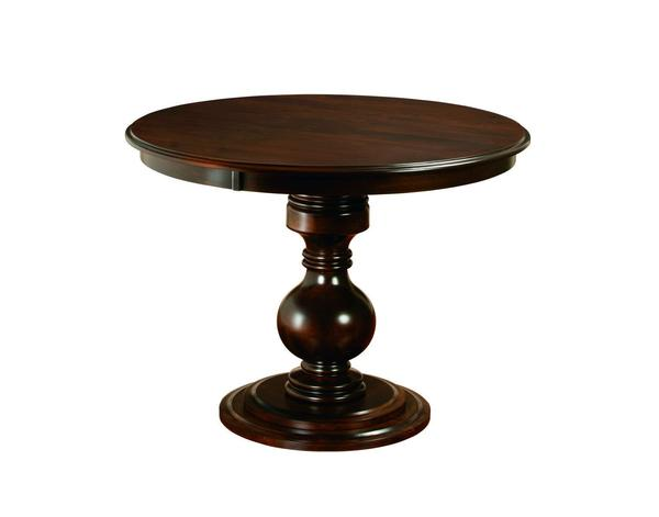 Amish Stanton Single Pedestal Dining Table