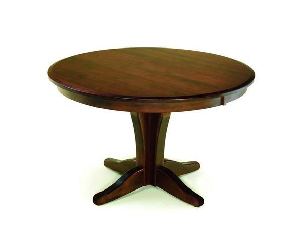 Amish Vintage Single Pedestal Table