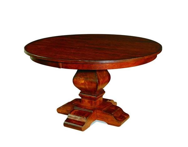 Wilmington Plank Top Single Pedestal Table