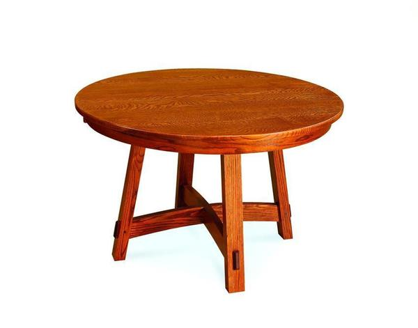 Colbran Amish Round Dining Room Table