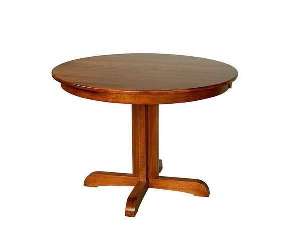 Amish Austin Pedestal Dining Table