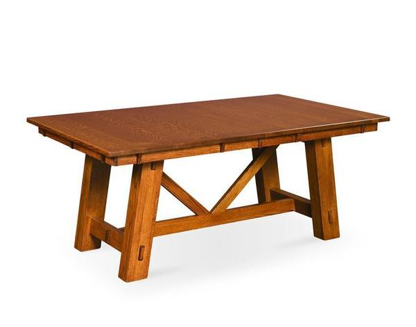 Amish Manitoba Trestle Table