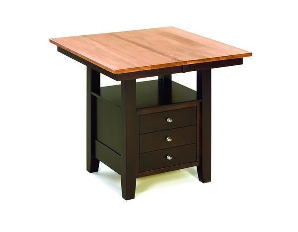Amish Camden Cabinet Dining Table