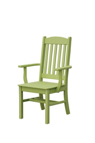 Sunnyside Poly Outdoor Arm Dining Chair