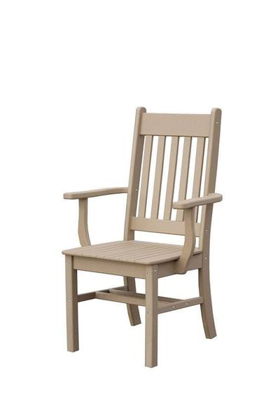 Conestoga Poly Arm Outdoor Dining Chair