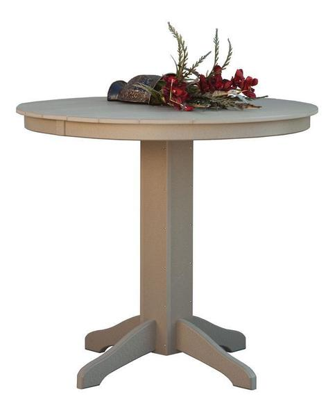"Daybreak 48"" Round Poly Pub Table"