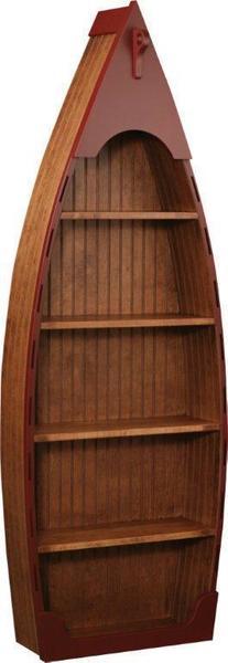 Amish Lake Placid Boat Shape Bookcase