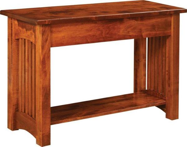 Amish Contemporary Mission Sofa Table