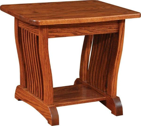 Amish Regal Mission End Table