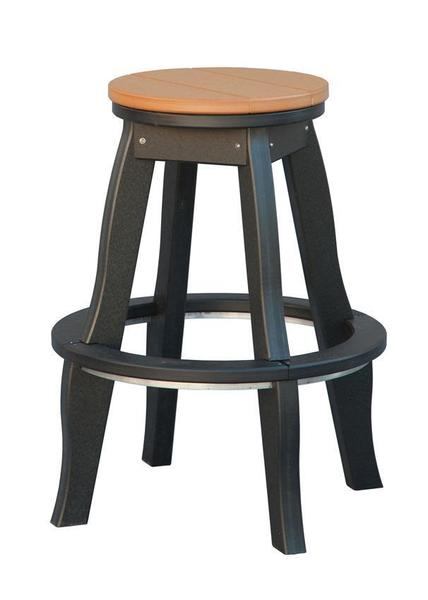 Amish Poly Patio Stool