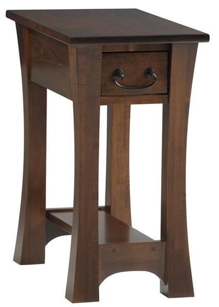 Amish Woodbury Chairside End Table
