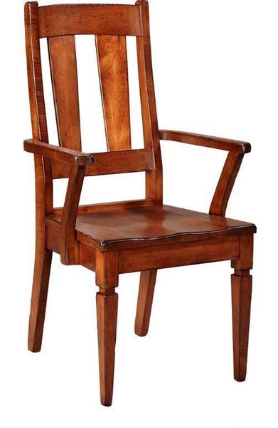 Amish Provence French Country Arm Dining Chair