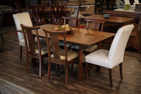 Amish Grand River Solid Top Dining Table