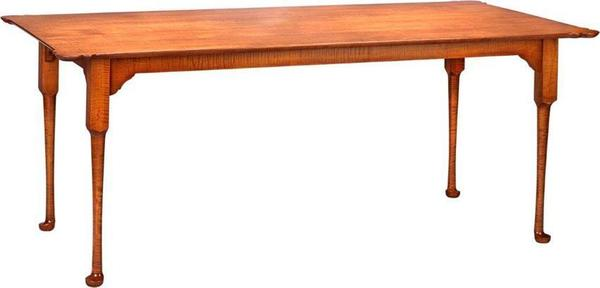 """Amish America's Past 72"""" Porringer Dining Table"""