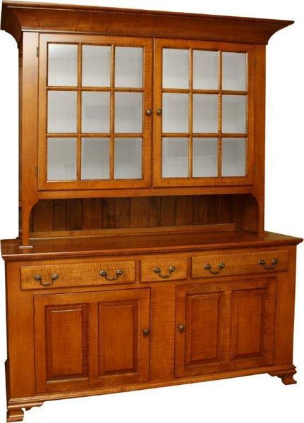 Amish America's Past 2-Door Hutch and Buffet