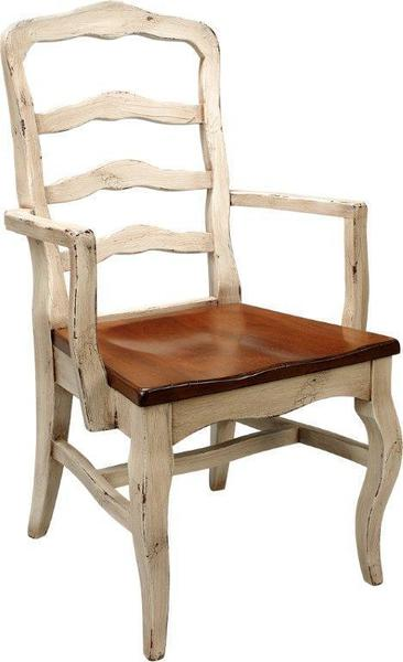 Amish Royal Court Arm Dining Chair