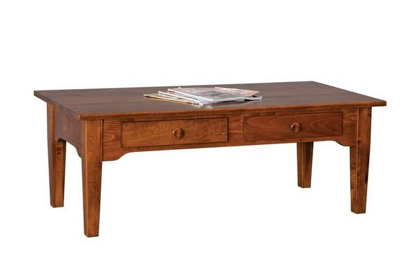 Amish Solid Wood Coffee Table