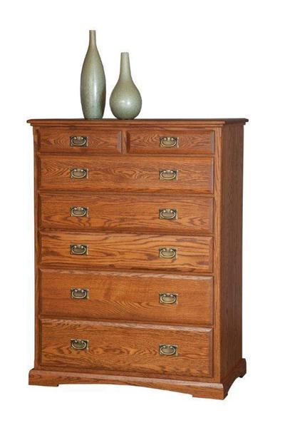 "Amish 44"" Chest of Drawers"