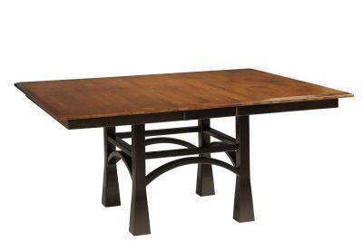 Amish San Marino Trestle Dining Room Table