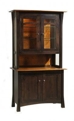 Amish San Marino 2 Door Hutch