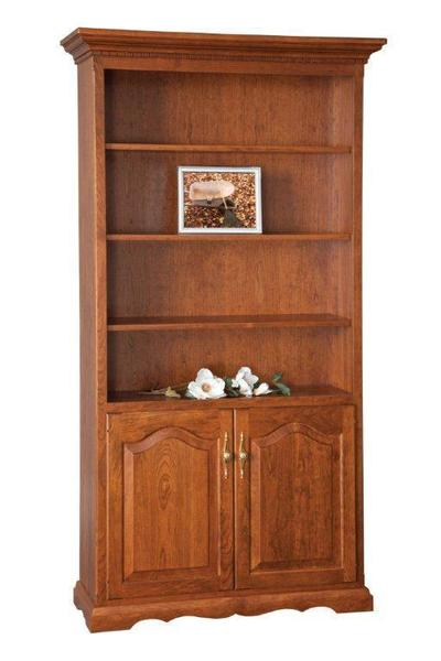Oak Wood Bookcase From Dutchcrafters Amish Furniture