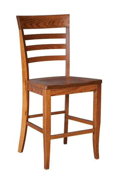 "Amish Capri 24"" Bar Stool"