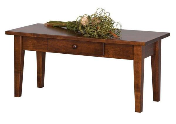 Amish Handcrafted Petite Shaker Coffee Table