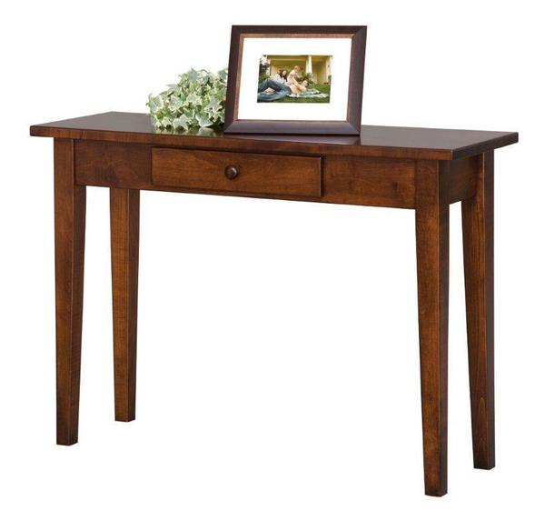 Amish Handcrafted Petite Shaker Sofa Table