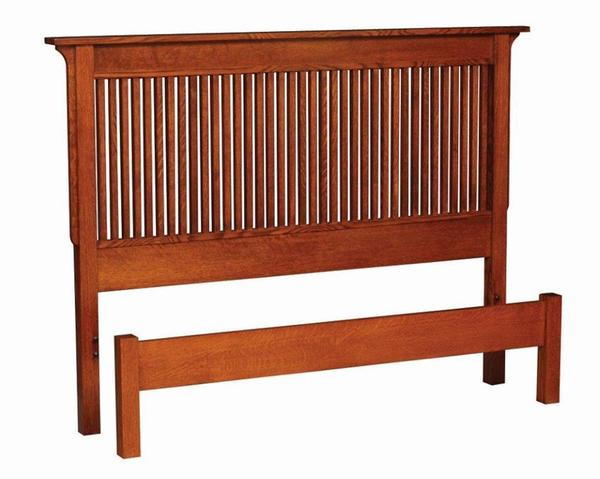 Amish Rose Mission Bed