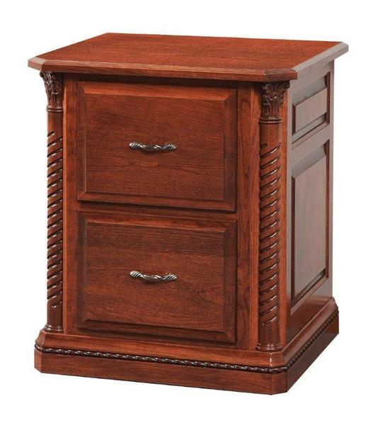 Amish Lexington Wood File Cabinet Choose Size