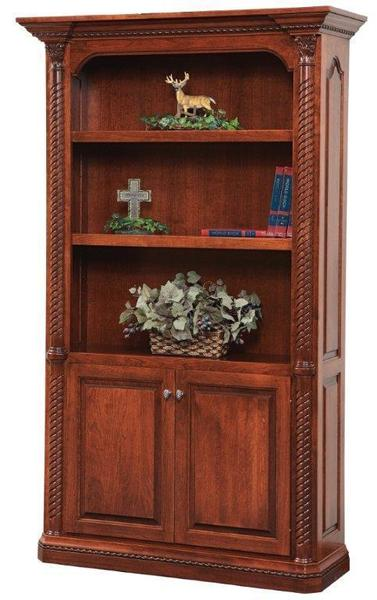 "Amish Lexington 48"" Bookcase"