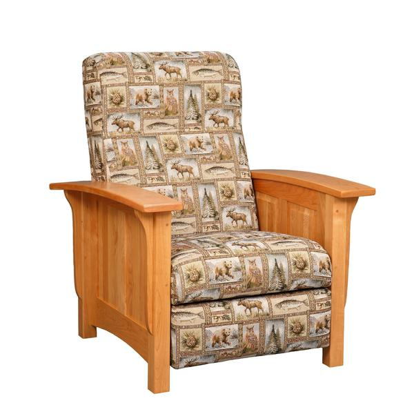 Amish Paneled Mission Recliner