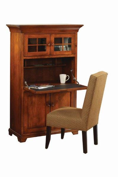 Amish Home Office Findlay Drop Front Desk