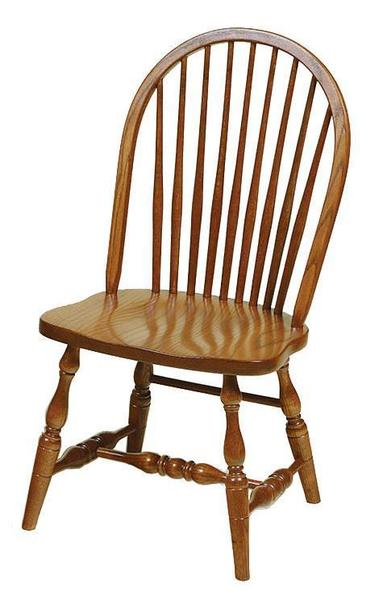 Amish 9-Spindle Windsor Dining Room Chair