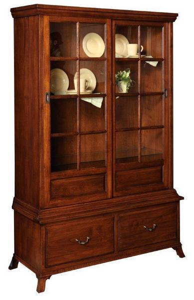 Amish Home Office Serenity Display Hutch