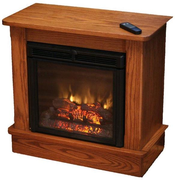 Seneca Electric Fireplace With Remote From Dutchcrafters Amish