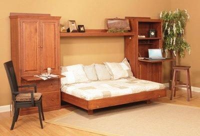 Amish Stockton Horizontal Wall Bed