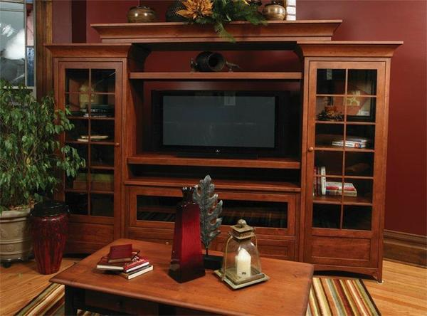 Montgomery Entertainment Center Unit From Dutchcrafters Amish
