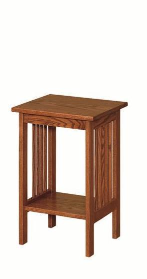 Amish Mission Style Small Accent Table
