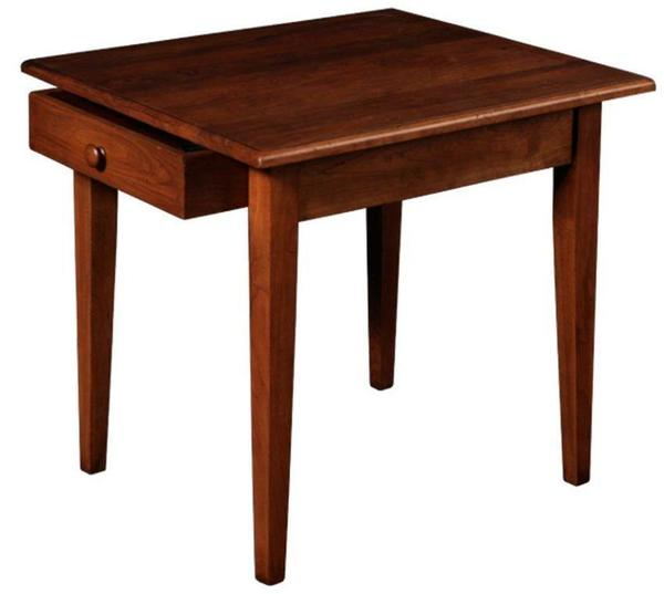 Amish Canterbury Large End Table