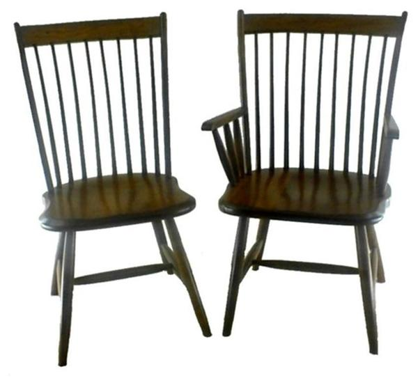 Amish Lansing Birdcage Windsor Dining Chair