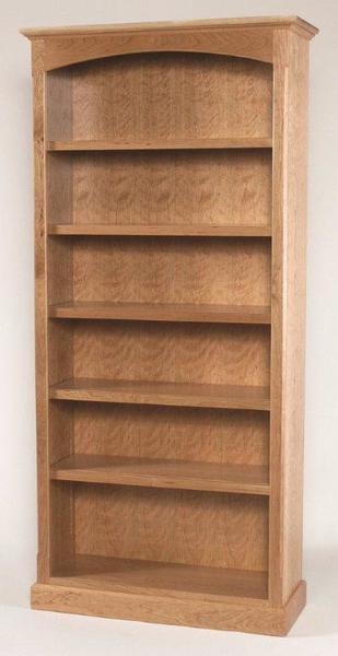 Amish Home Office Plain Shaker Bookcases