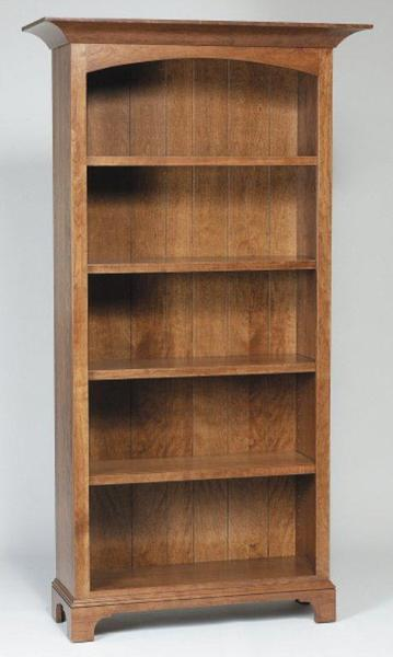Amish Home Office New Bedford Shaker Bookcases