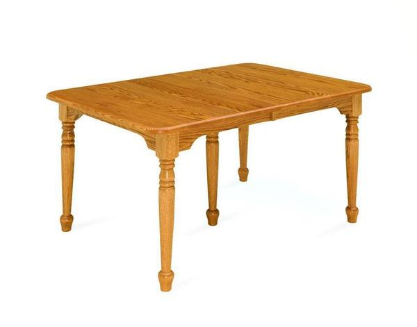 Amish Wood Leg Dining Table