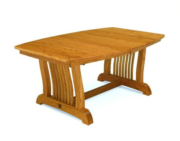 Amish Royal Mission Trestle Dining Table