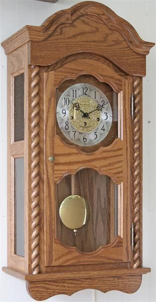 Amish Made Heartland Wall Clock Wind-Up Model