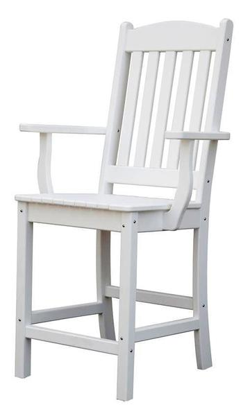 Amish Poly Sunnyside Balcony Arm Chair