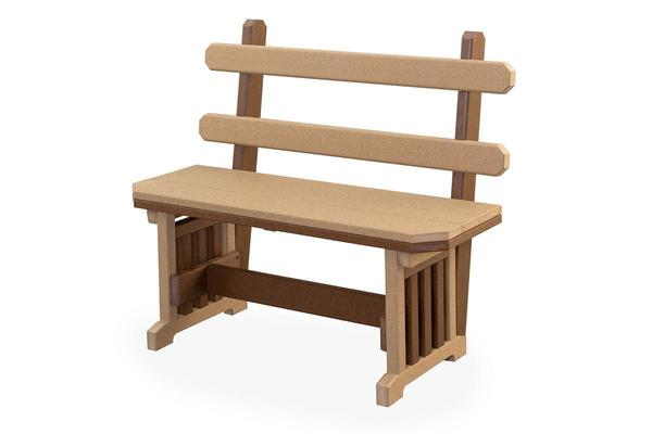 Finch Extra Wide Poly Mission Bench